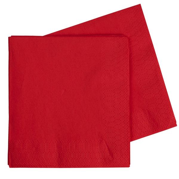 Red Serviettes (25)
