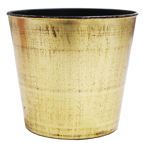 Gold Sprayed Bucket