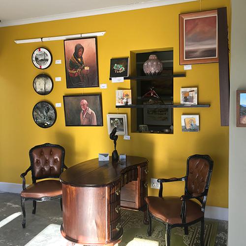 Cape Palette Reception area