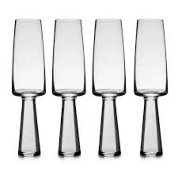 CaRRoL BoYeS Champagne Flute Set of 4