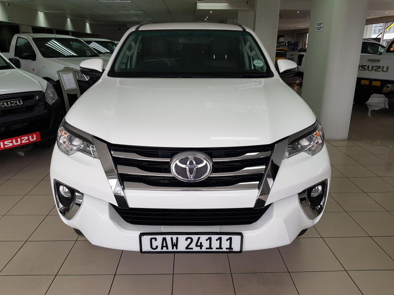 2018 Toyota Fortuner 2.4 GD-6 R/B M/T