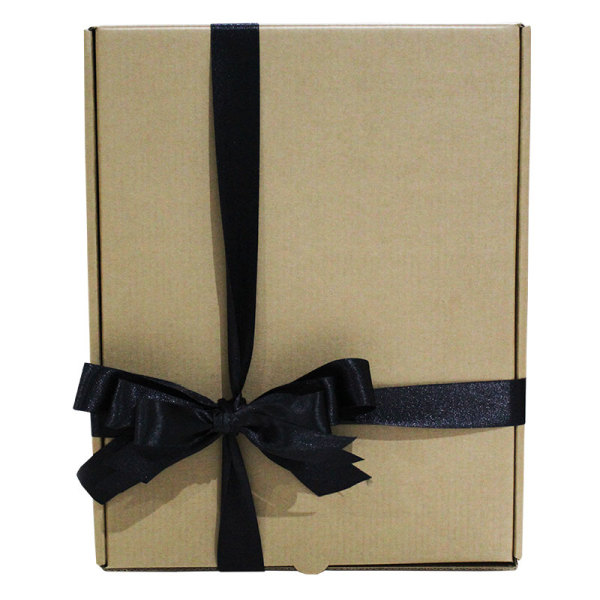 Craft Hamper Box with ribbon