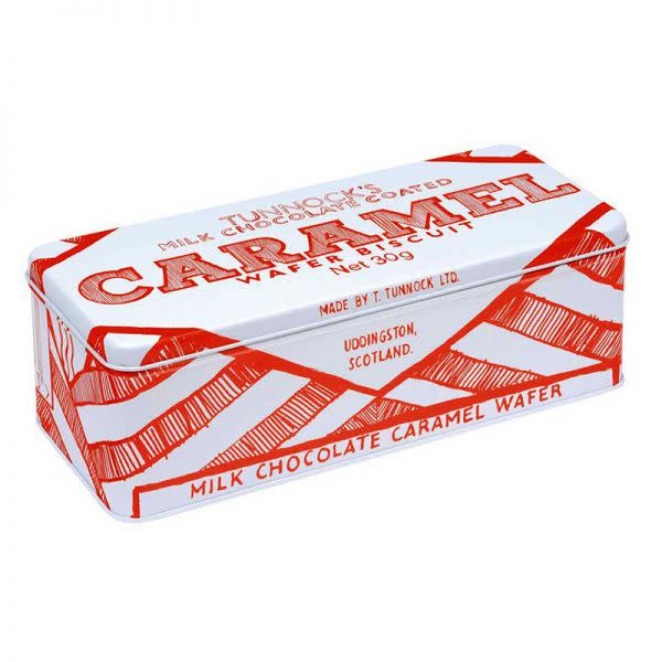 Caramel Wafer Biscuit Tin