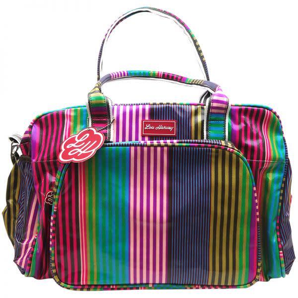 Sarah Stripe Nappy Bag