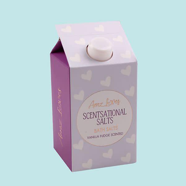 Amz Loves Bath Salts - Vanilla Fudge (580g)