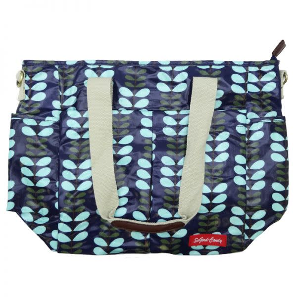 Orla Kiely patterned Nappy Bag