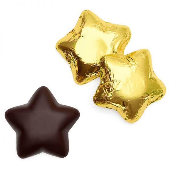 Single Gold Chocolate Caramel Stars