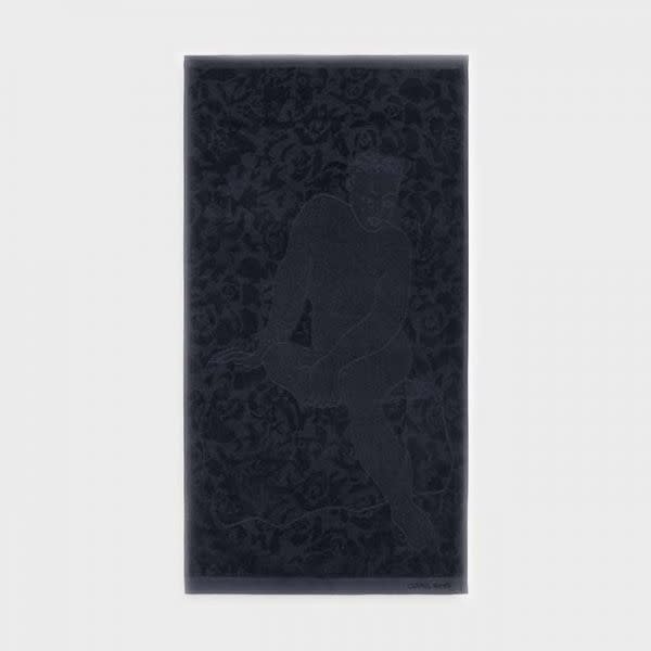 CaRRoL BoYeS Guest Towel - Ethereal - Black