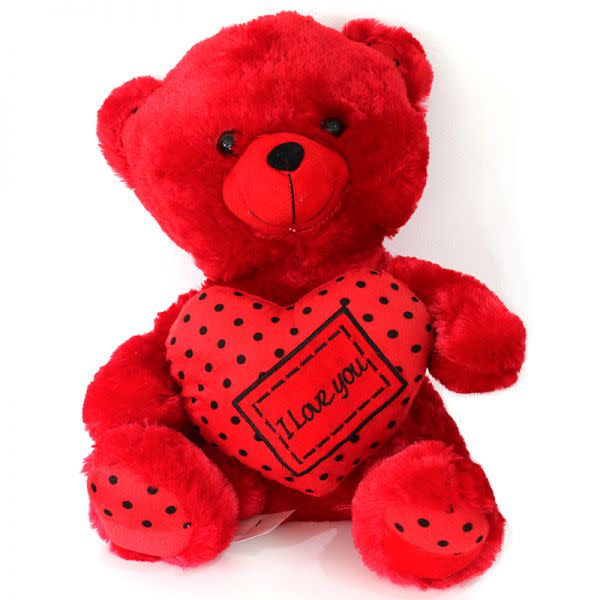 Large Red Teddy