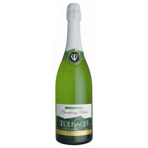 Tulbagh Alcohol Free Sparkling Grape juice - White  (750ml)