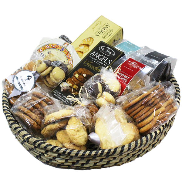 Festive Biscuit Basket