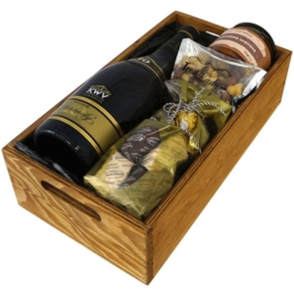 10 YO KWV Brandy Gift Set