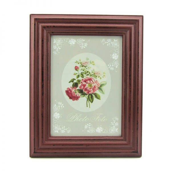 Burgundy Photo Frame (13 cm x 18cm)