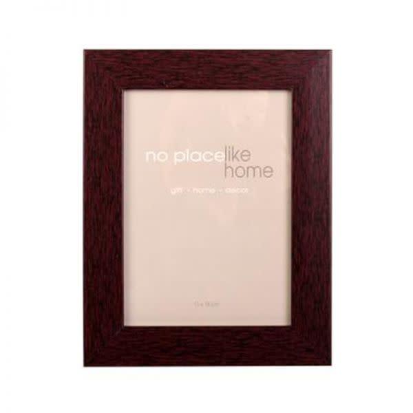 Mahogany Wooden Photo Frame (10cm x 15cm)