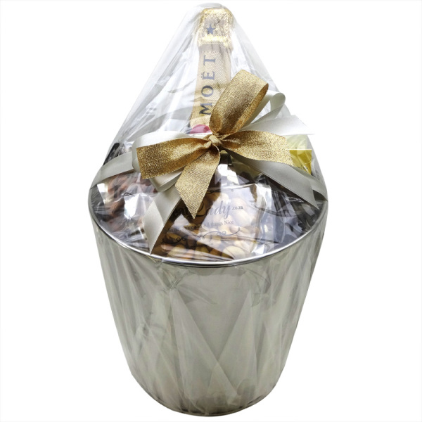 Golden Moet and Lindt Bucket