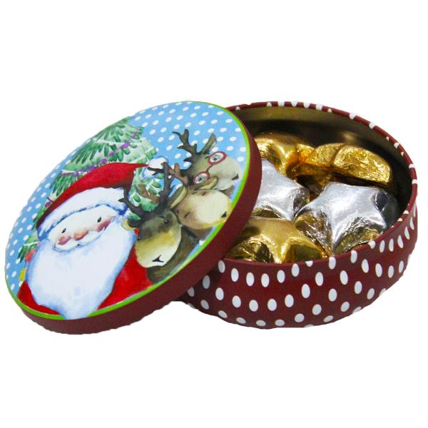 Santas Lil Chocolate Tin