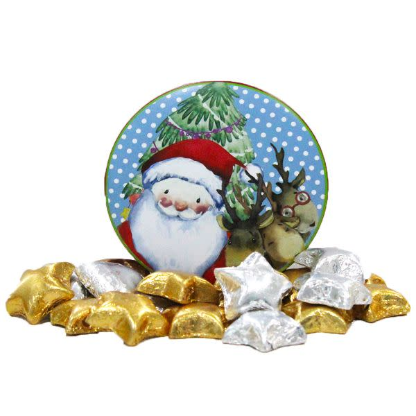 Santas Lil Chocolate Tin