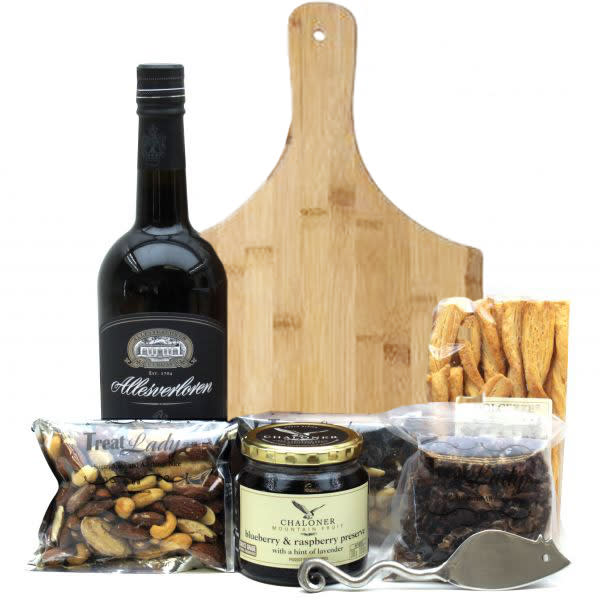 Port and Treats Hamper