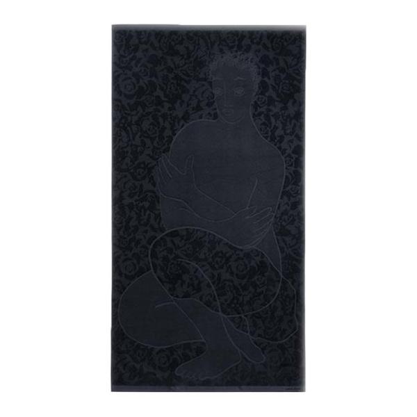 CaRRoL BoYeS Sheet Towel - Ethereal - Black