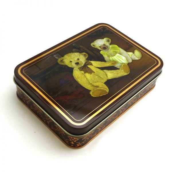 Old Brown Bear Tin with Nougat Bon Bons (4)