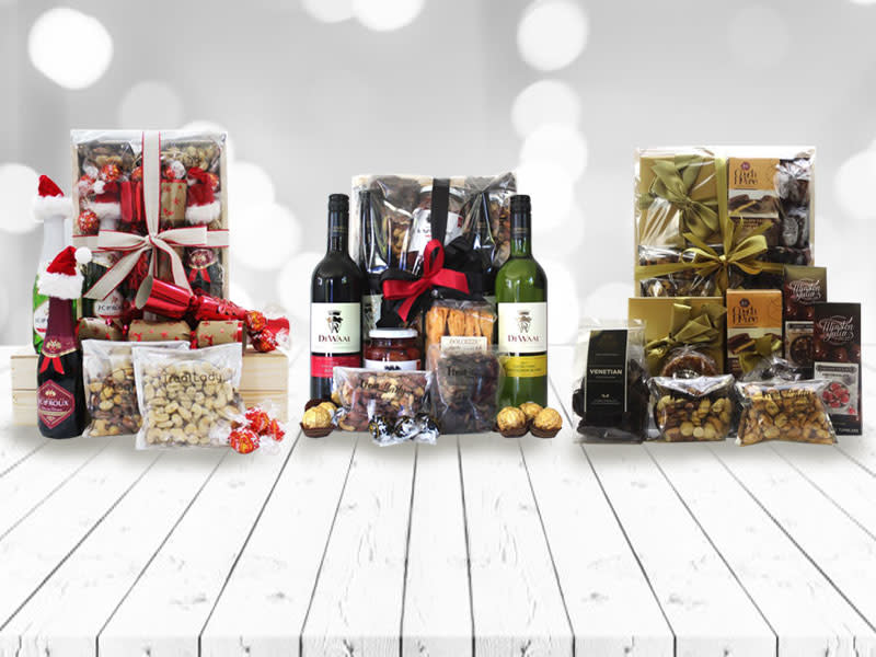 View our selection of <br> Exquisite Hampers