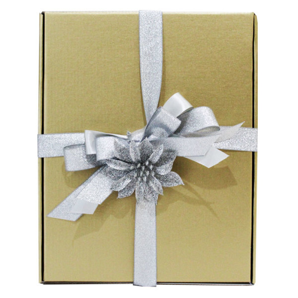 Silver Themed Festive Gift Box