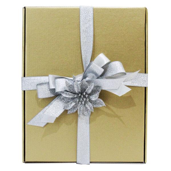 Silver Themed Festive Gift Box