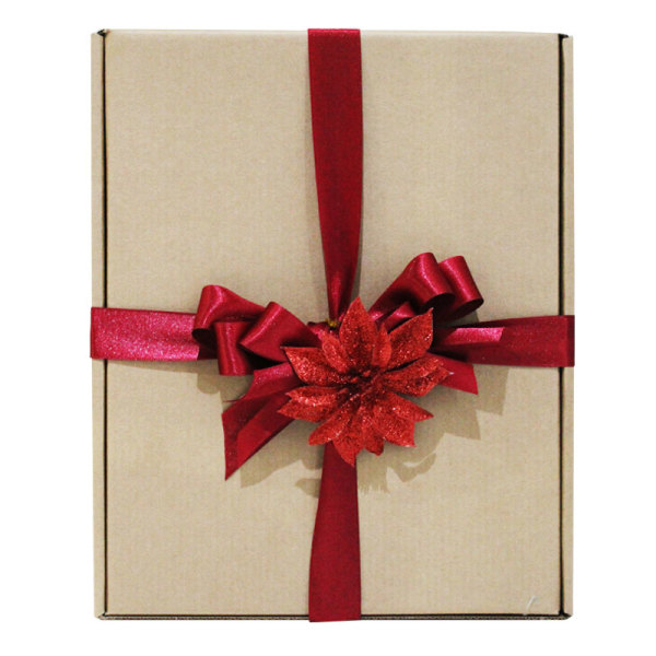 Red Themed Festive Gift Box