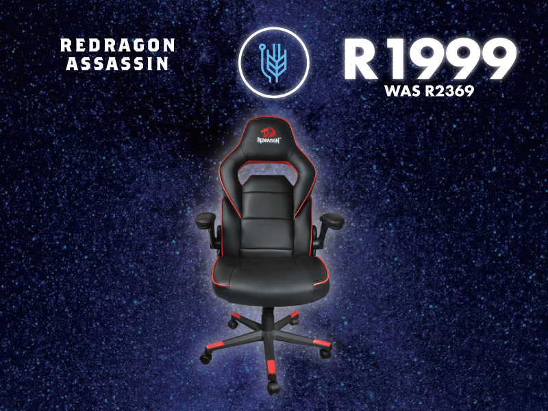 Admirable Redragon Assassin Black Red Gaming Chair Black Friday Machost Co Dining Chair Design Ideas Machostcouk