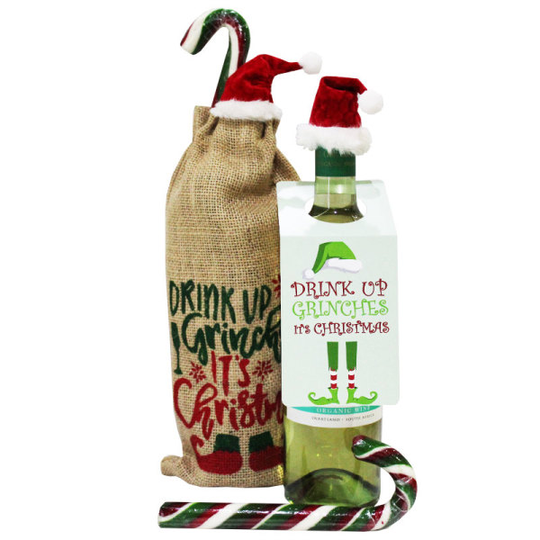 Drink Up Grinches Party Bag