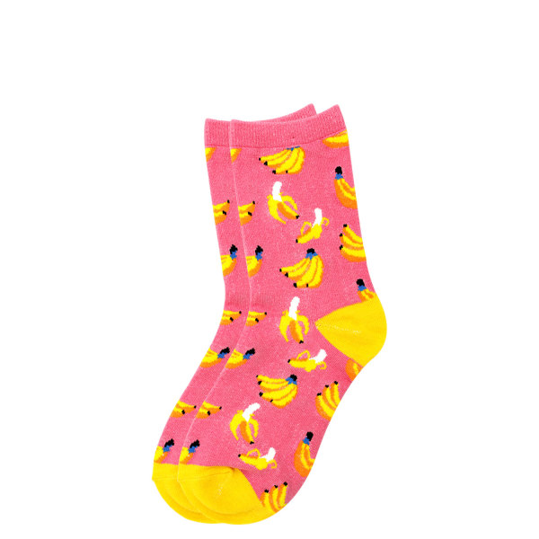 Quirky fruits socks - Bananas (One size fits all)