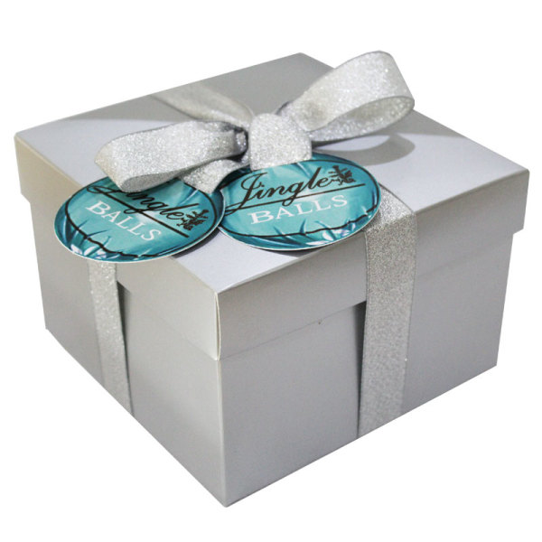 Silver Jingle Balls Gift Box