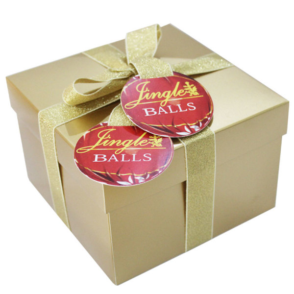 Golden Jingle Balls Gift Box