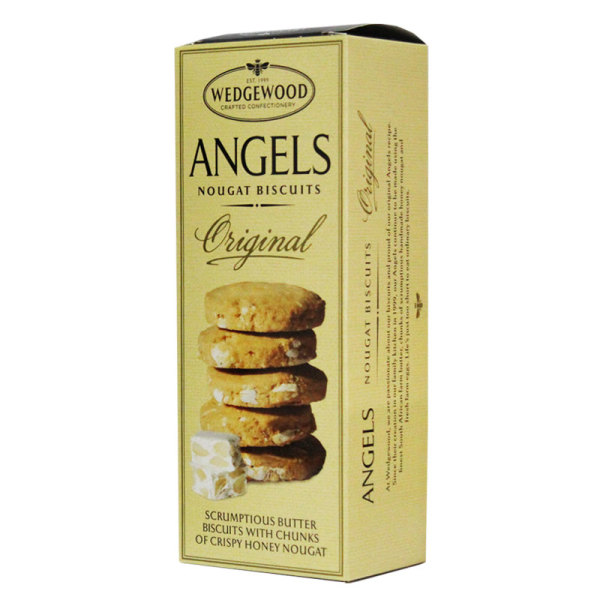 Wedgewood Angels Nougat Biscuits (150g)