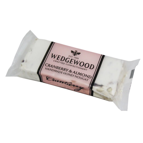 Wedgewood Nougat Bar (Cranberry and Almond)