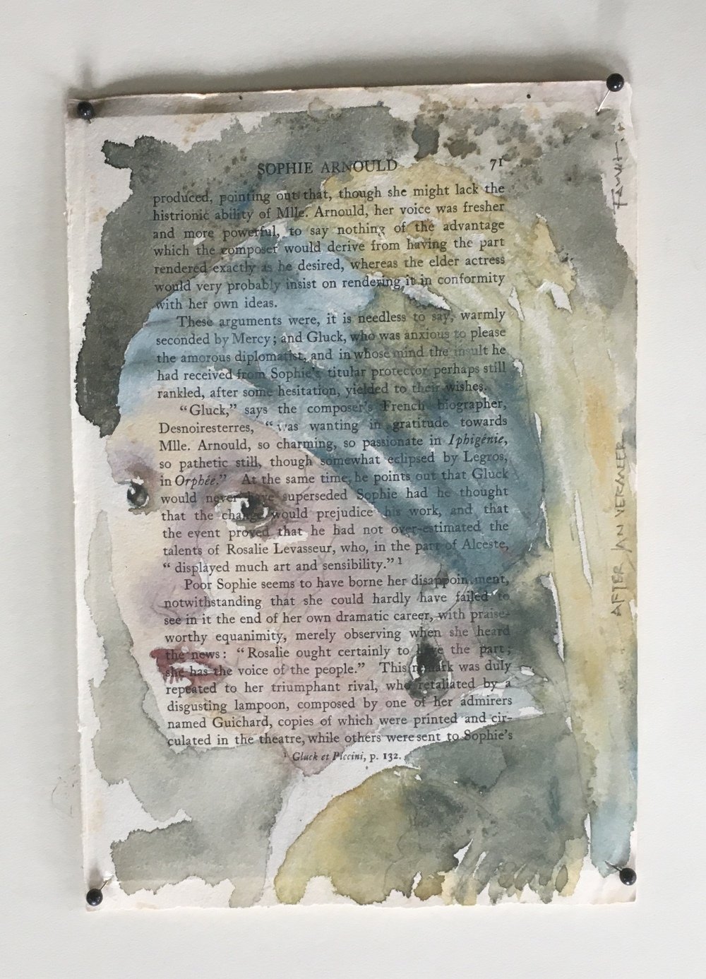 Girl with pearl earring -after Vermeer