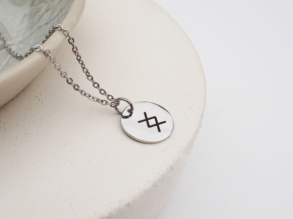 """Where there is will, there is a way"" Necklace"