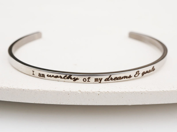 """Dreams & Goals"" Bracelet"