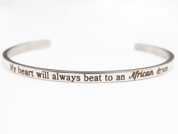"""African Drum"" Bracelet"