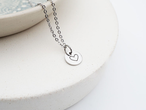 """Tiny Heart Big Love"" Necklace"