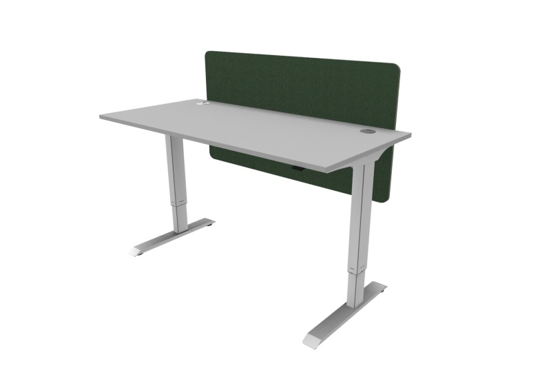 Height Adjustable Single Desk
