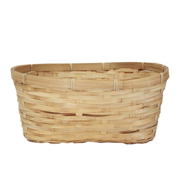 Oval Bamboo Basket