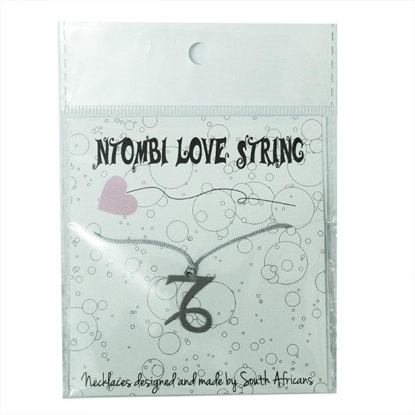 Ntombi Star Sign Necklace - Capricorn