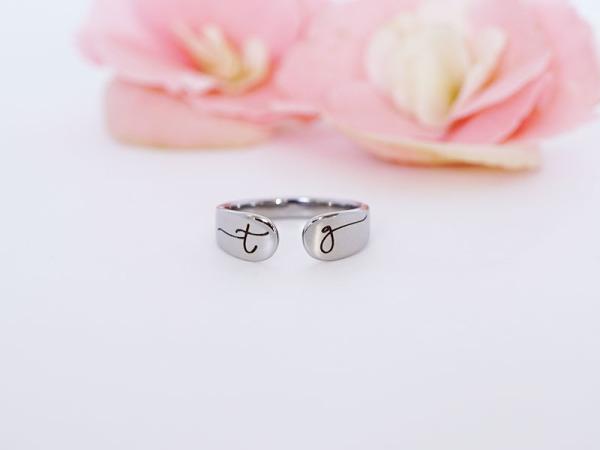 Cuff Ring - Initials