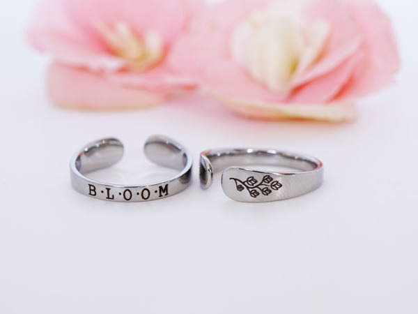 "Cuff Ring - ""Bloom"""