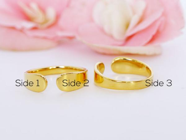 Cuff Ring - Custom Engraving