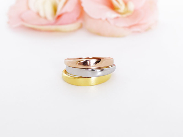 Custom Stacker - Trio of Rings