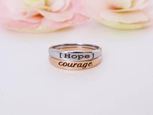 "Stacker Duo - ""Hope & Courage"