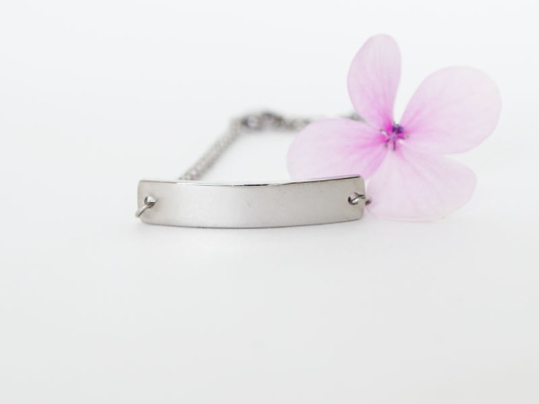 Reminder Kids - Bar Bracelet Silver