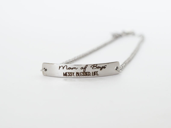 Mommy Bracelet ~ Mom of Boys
